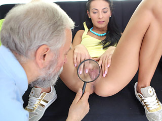 Virgin alesya being seduced by a porn actor 9